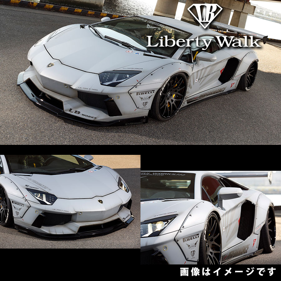 Lamborghini ランボルギーニ アヴェンタドール LB☆ワークス コンプリートボディキット タイプ2 カーボンFRP製