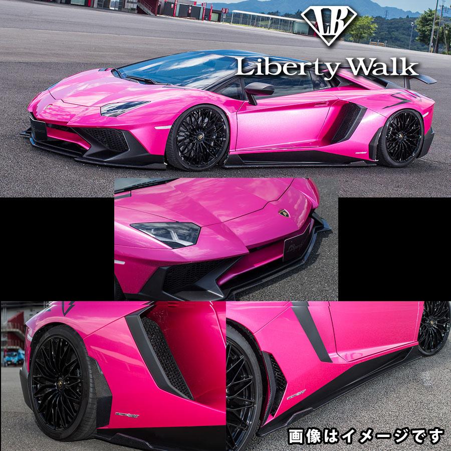 Lamborghini ランボルギーニ アヴェンタドールSV LB☆ワークス コンプリートボディキット カーボンFRP製 マット仕上げ ※クリア塗装済み