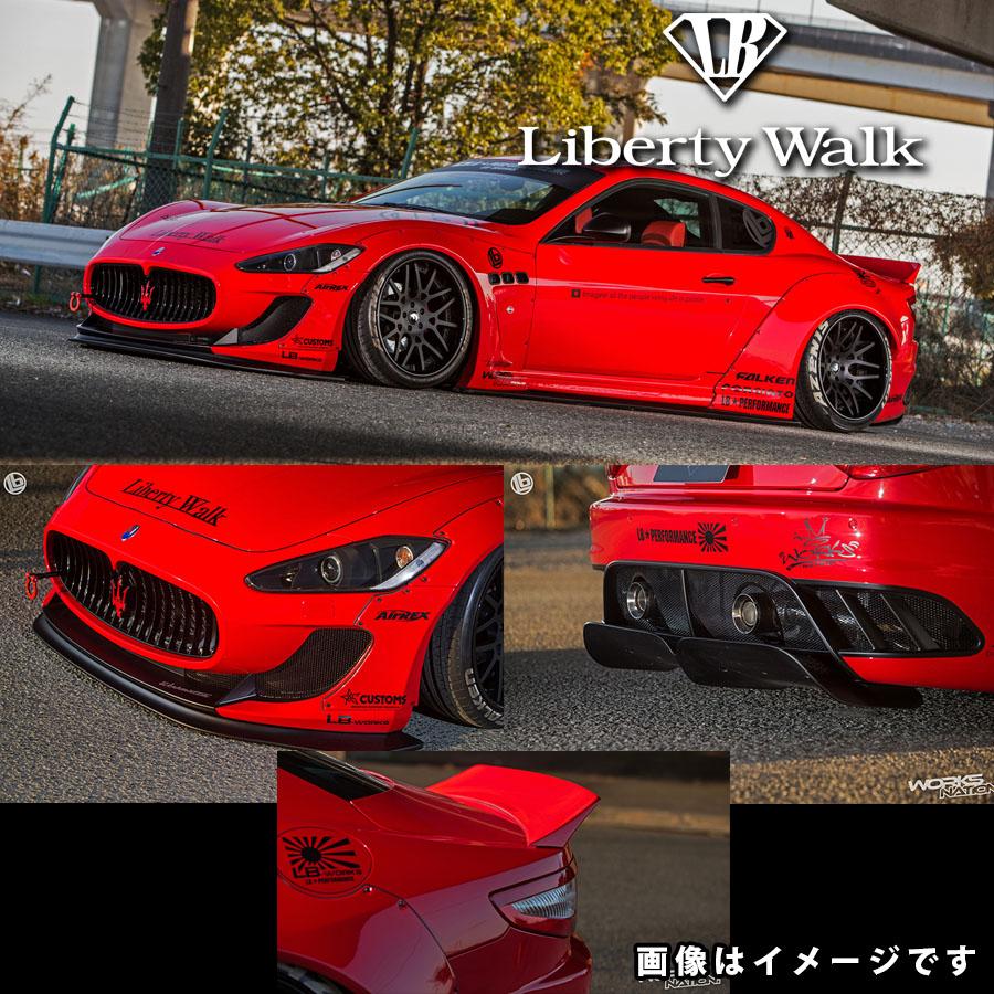 Maserati マセラティ MCストラダーレ専用 グランツーリスモ LB☆ワークス コンプリートボディキット FRP製