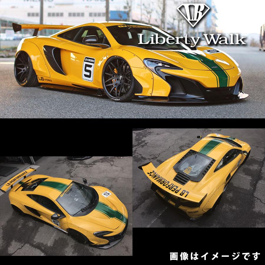 McLaren マクラーレン 650S LB☆ワークス コンプリートボディキット カーボンFRP製 ドライカーボンウイング付き