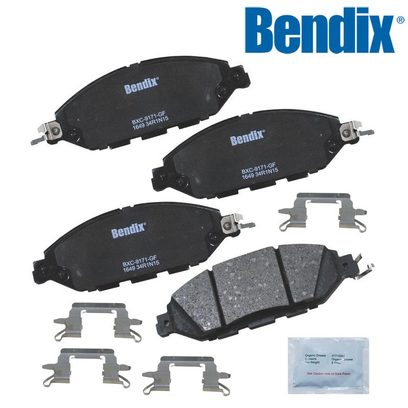 QX60 3.5L ブレーキパット フロント Bendix '14y~'16y