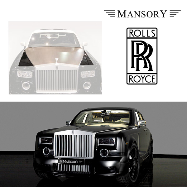【MANSORY/マンソリー】Rolls-Royce/ロールスロイス ファントム専用 MANSORY / マンソリー エンジンボンネット ブラッシュドアルミニウム