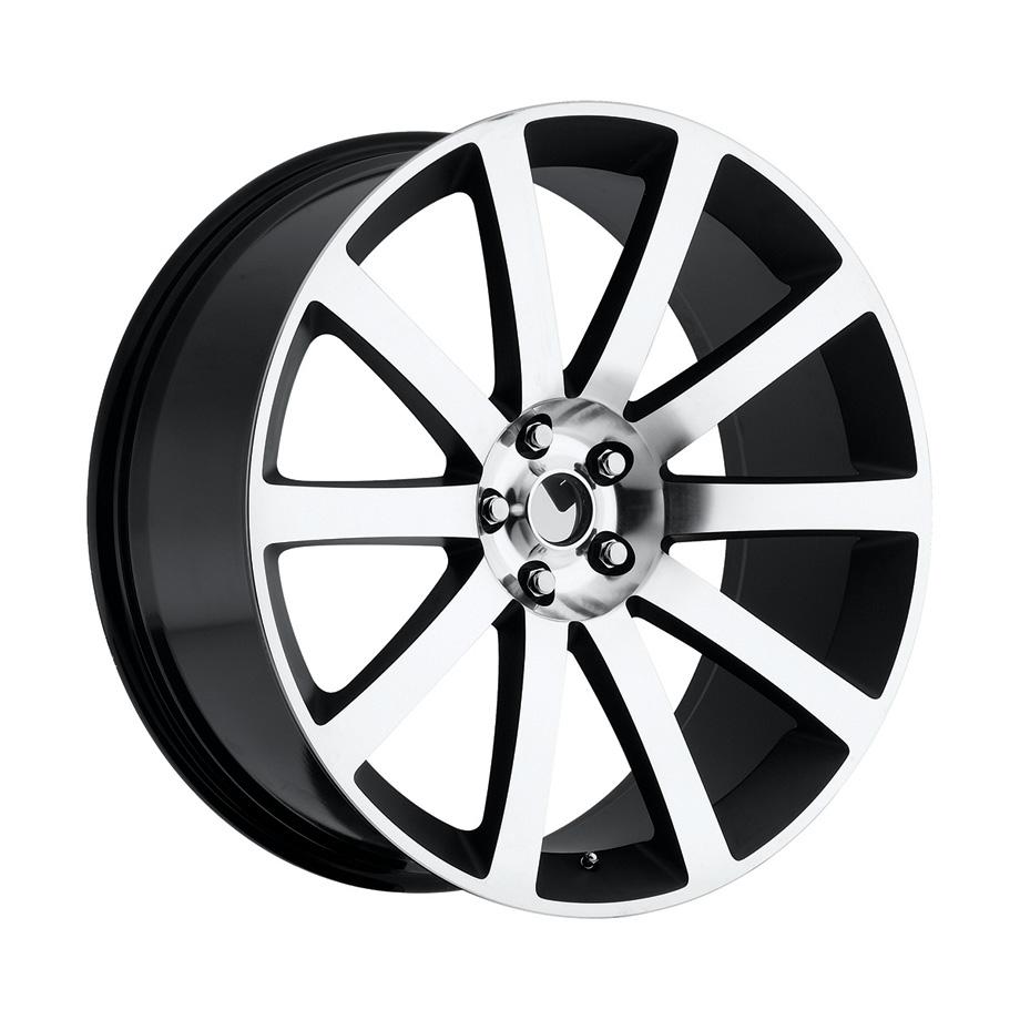 ホイール 300C SRT8モデル ブラックマシンフェイス 22インチ 純正タイプ【アメ車パーツ】