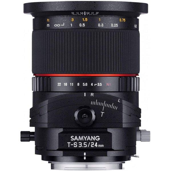 サムヤン SAMYANG 単焦点広角ティルトシフトレンズ 24mm F3.5 キヤノン EF用 フルサイズ対応