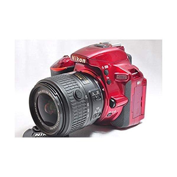 THE 5大特典 安い プレゼント対象品 8 31まで 4~11 クーポンで最大4000円OFF ファクトリーアウトレット ニコン レッド VRII レンズキット D5500 SDカード付き 18-55 Nikon
