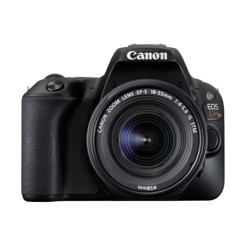 Canon キヤノン デジタル一眼レフカメラ EOS Kiss X9 EF-S18-55 IS STM レンズキット ブラック