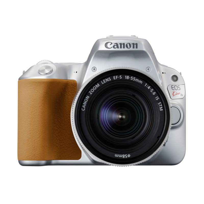 【4月12日20:00-16日1:59 カード決済でポイント9倍!】Canon キヤノン デジタル一眼レフカメラ EOS Kiss X9 EF-S18-55 IS STM レンズキット シルバー
