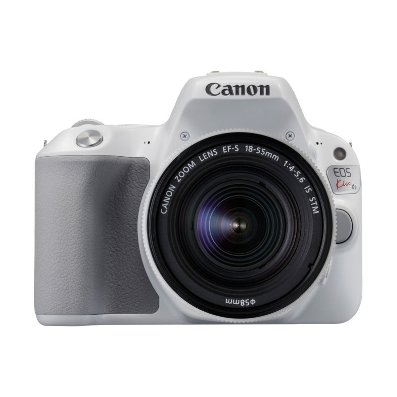 Canon キヤノン デジタル一眼レフカメラ EOS Kiss X9 EF-S18-55 IS STM レンズキット ホワイト