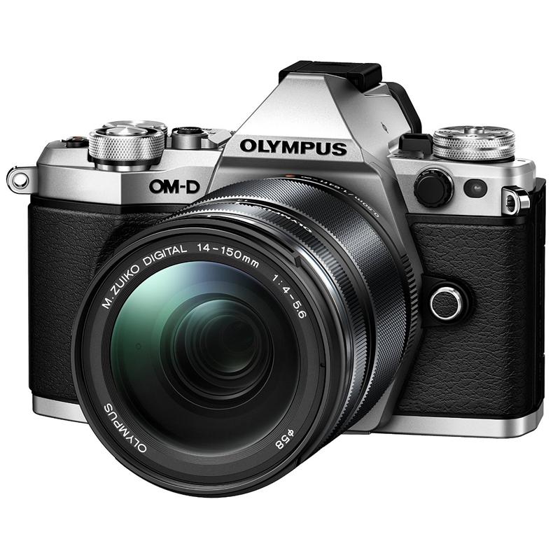 【4月12日20:00-16日1:59 カード決済でポイント9倍!】OLYMPUS オリンパス ミラーレス一眼カメラ OM-D E-M5 Mark II 14-150mm II レンズキット シルバー