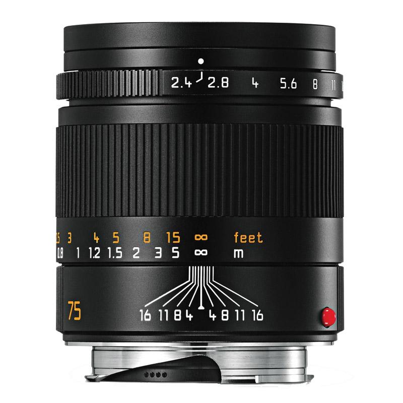 【7月21日20:00-7月26日1:59エントリー&カード決済でポイント最大7倍!】ライカ Leica ズマリット M f2.4/75mm ブラック (11682) SUMMARIT 望遠レンズ