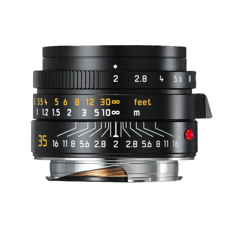 【4月12日20:00-16日1:59 カード決済でポイント9倍!】ライカ Leica ズミクロンM f2/35mm ASPH. ブラック(11673) SUMMICRON 標準レンズ