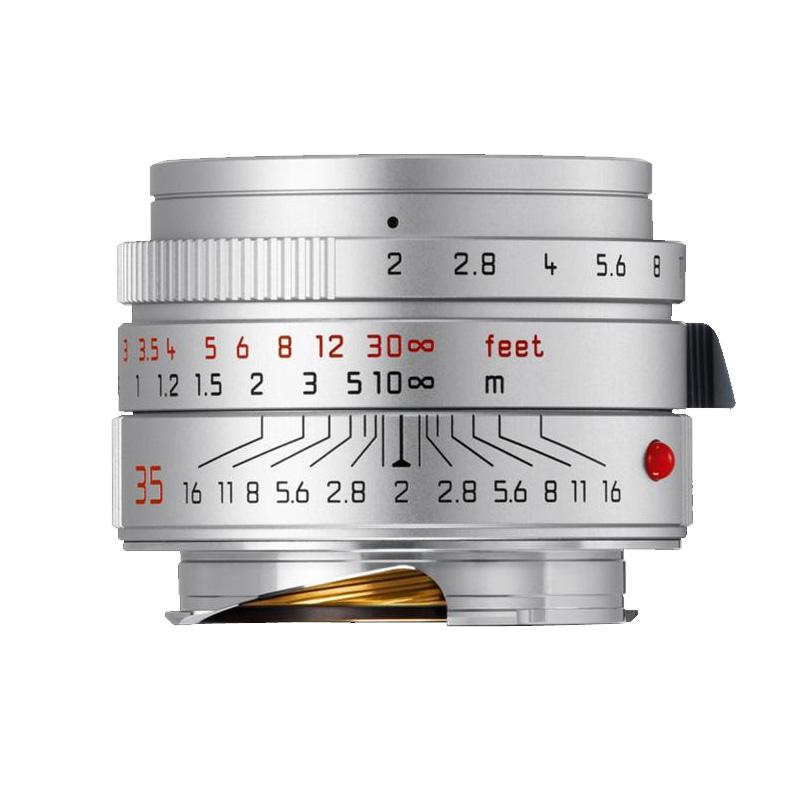 【4月12日20:00-16日1:59 カード決済でポイント9倍!】ライカ Leica ズミクロンM f2/35mm ASPH. シルバー(11674) SUMMICRON 標準レンズ