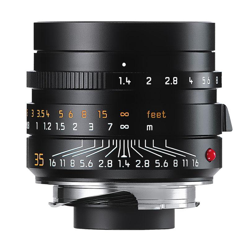 【4月12日20:00-16日1:59 カード決済でポイント9倍!】ライカ Leica ズミルックスM f1.4/35mm ASPH. ブラック (11663) SUMMILUX 標準レンズ