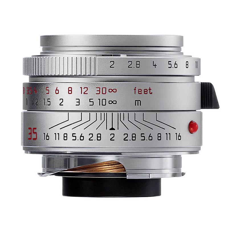 ライカ Leica ズミクロンM f2/35mm ASPH. シルバー(11882C) SUMMICRON 標準レンズ