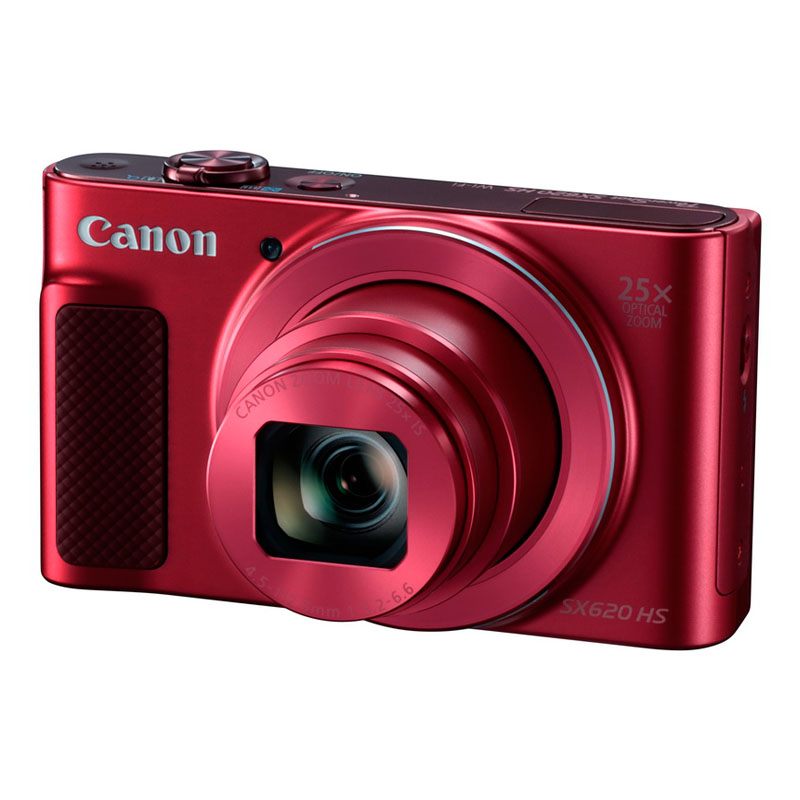 【4月12日20:00-16日1:59 カード決済でポイント9倍!】Canon キヤノン コンパクトデジタルカメラ PowerShot SX620 HS レッド パワーショット