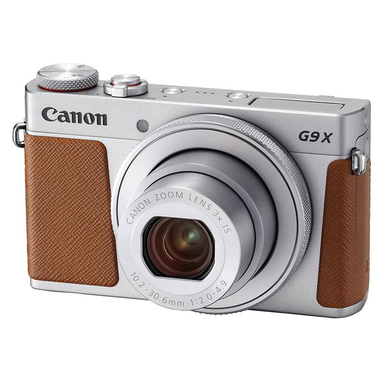 Canon キヤノン コンパクトデジタルカメラ PowerShot G9 X Mark II シルバー パワーショット