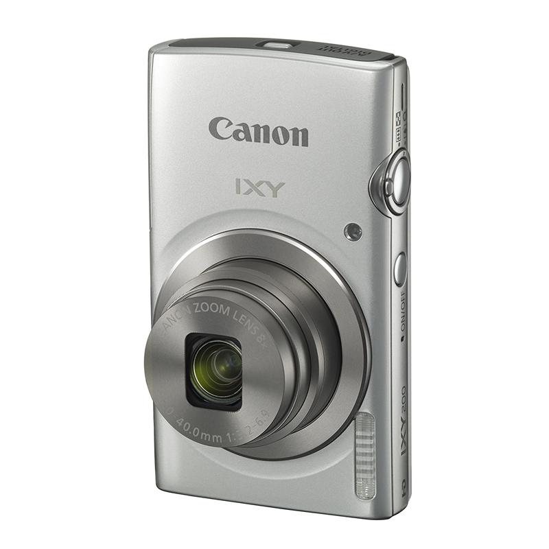【4月12日20:00-16日1:59 カード決済でポイント9倍!】Canon キヤノン コンパクトデジタルカメラ IXY 200 シルバー イクシー