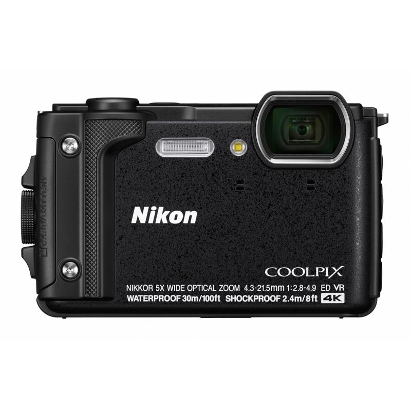 【キャッシュレス5%還元対象店】Nikon ニコン コンパクトデジタルカメラ COOLPIX W300 ブラック クールピクス