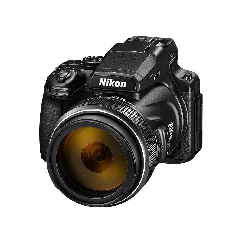 【4月12日20:00-16日1:59 カード決済でポイント9倍!】Nikon ニコン コンパクトデジタルカメラ COOLPIX P1000 ブラック クールピクス