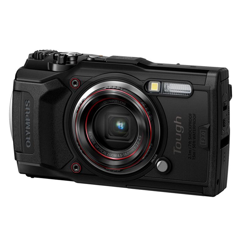 【キャッシュレス5%還元対象店】OLYMPUS オリンパス コンパクトデジタルカメラ STYLUS Tough TG-6 ブラック スタイラス