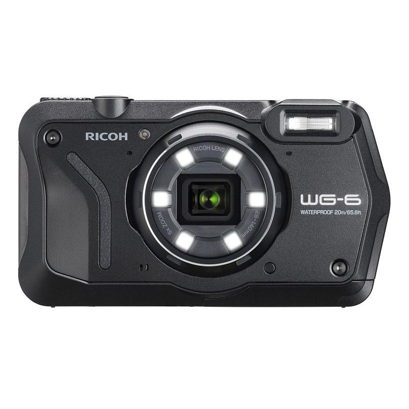 【キャッシュレス5%還元対象店】リコー RICOH コンパクトデジタルカメラ WG-6 ブラック