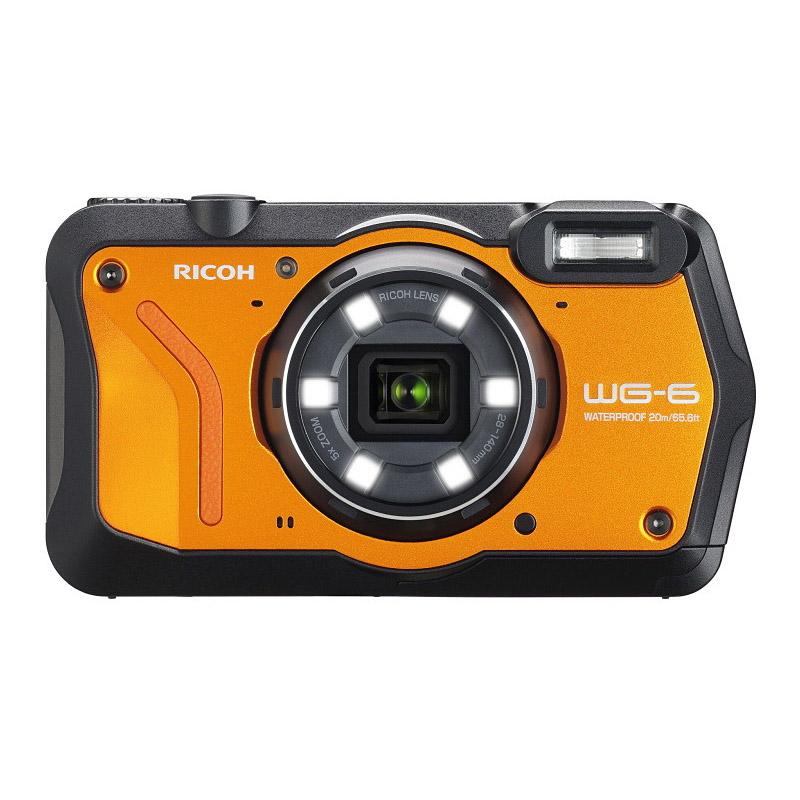 【予約商品】リコー RICOH コンパクトデジタルカメラ WG-6 オレンジ 【2019年4月19日発売予定】
