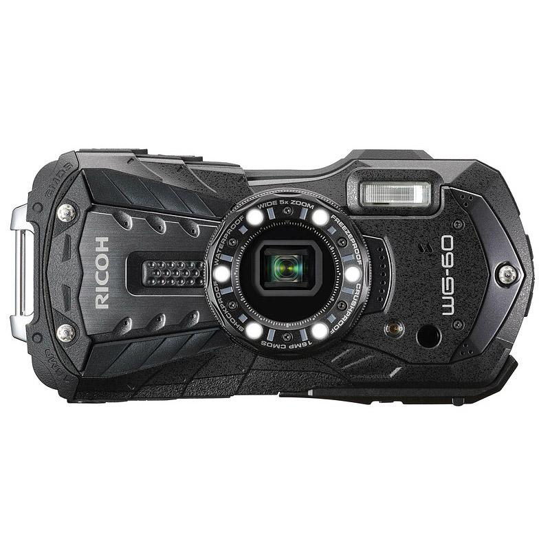 【7月21日20:00-7月26日1:59エントリー&カード決済でポイント最大7倍!】リコー RICOH コンパクトデジタルカメラ WG-60 ブラック