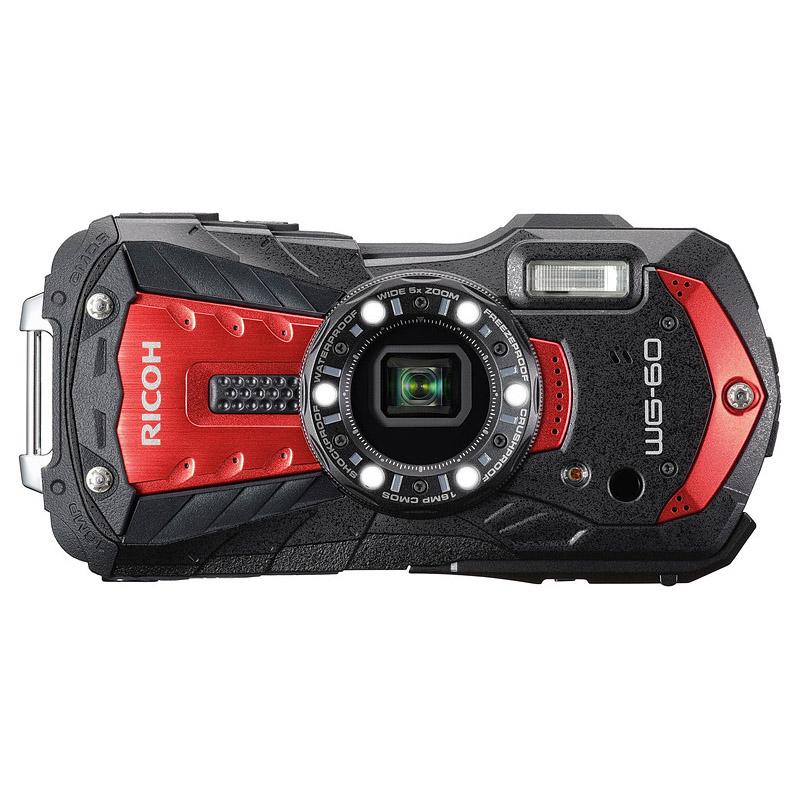 【キャッシュレス5%還元対象店】リコー RICOH コンパクトデジタルカメラ WG-60 レッド