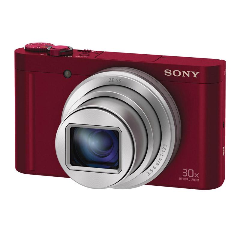 SONY ソニー コンパクトデジタルカメラ Cyber-Shot DSC-WX500 レッド サイバーショット
