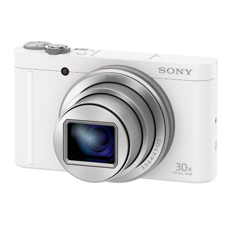 【4月12日20:00-16日1:59 カード決済でポイント9倍!】SONY ソニー コンパクトデジタルカメラ Cyber-Shot DSC-WX500 ホワイト サイバーショット