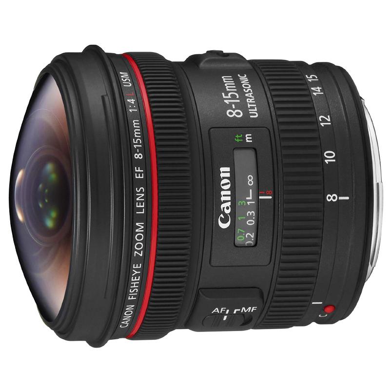 キヤノン Canon L F4 フィッシュアイ EF フィッシュアイズームレンズ USM 8-15mm