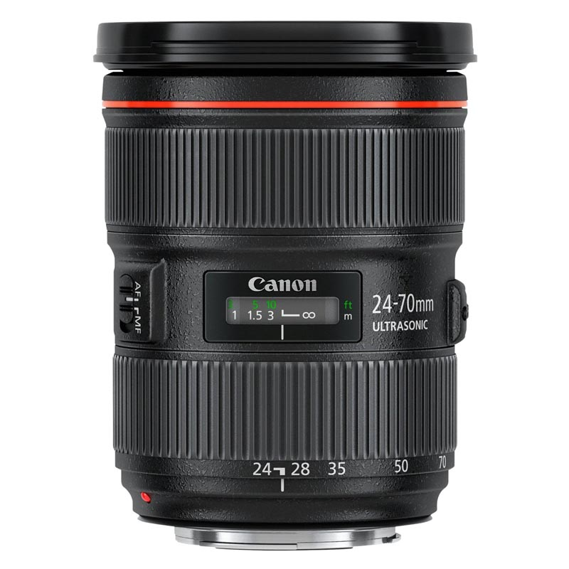 Canon キヤノン 大口径標準ズームレンズ EF 24-70mm F2.8 L II USM