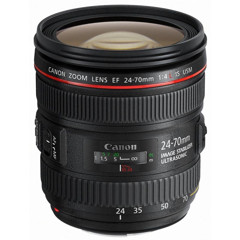 Canon キヤノン 標準ズームレンズ EF 24-70mm F4 L IS USM