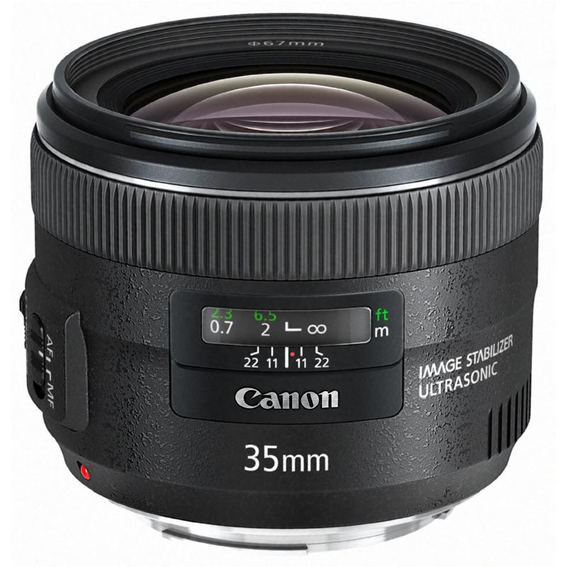 Canon キヤノン 広角単焦点レンズ EF 35mm F2 IS USM