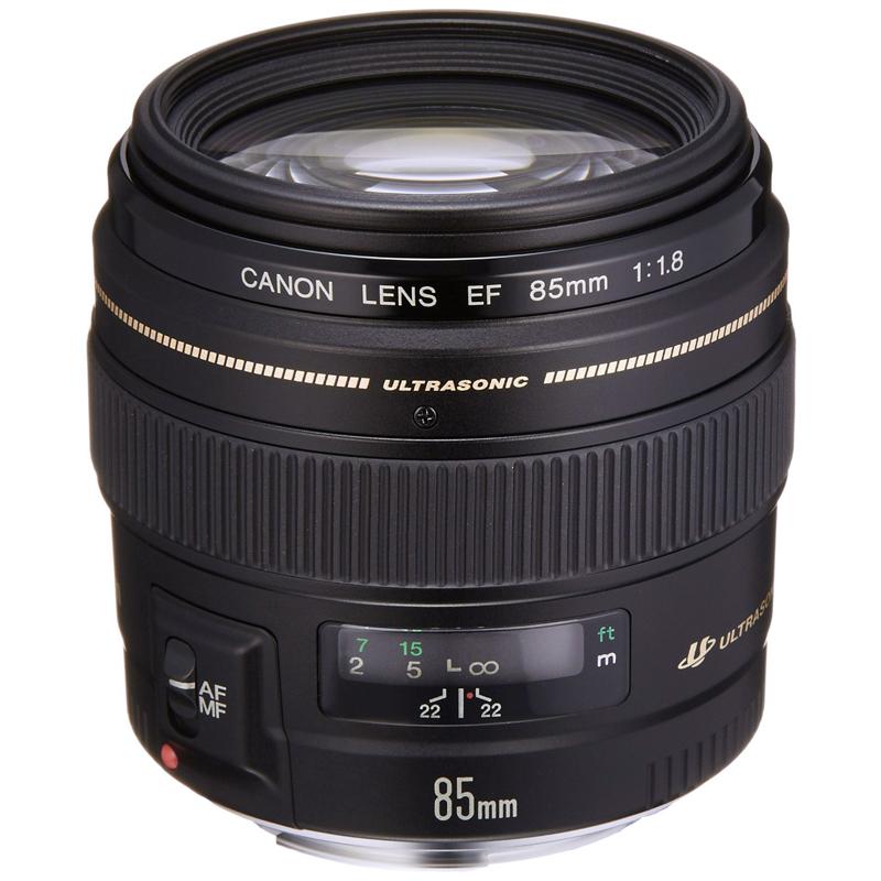 Canon キヤノン 中望遠単焦点レンズ EF 85mm F1.8 USM