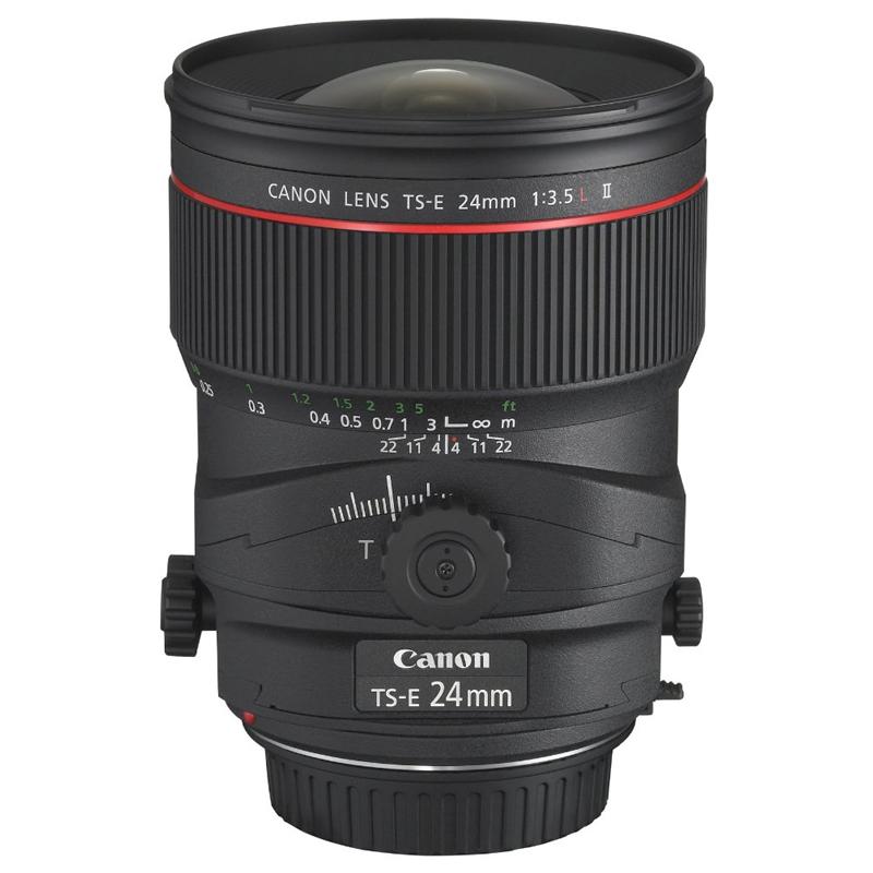 【4月12日20:00-16日1:59 カード決済でポイント9倍!】Canon キヤノン 広角アオリレンズ TS-E 24mm F3.5 L II