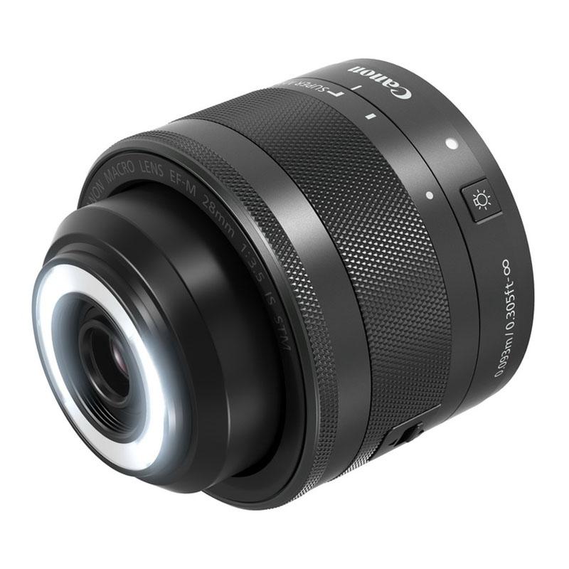 Canon キヤノン マクロレンズ EF-M 28mm F3.5 マクロ IS STM