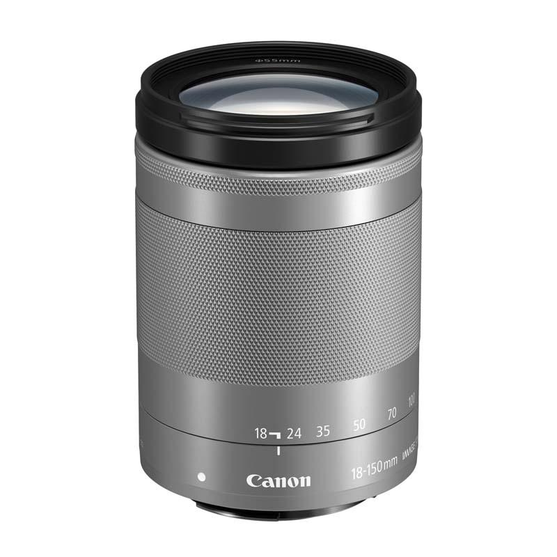 【4月12日20:00-16日1:59 カード決済でポイント9倍!】Canon キヤノン 高倍率ズームレンズ EF-M18-150mm F3.5-6.3 IS STM シルバー