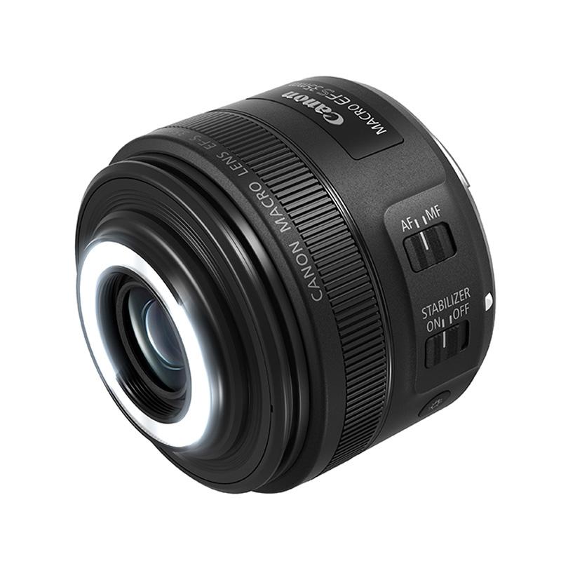 【キャッシュレス5%還元対象店】Canon キヤノン 標準マクロレンズ EF-S35mm F2.8 マクロ IS STM
