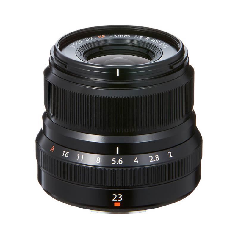 【キャッシュレス5%還元対象店】FUJIFILM フジフイルム 標準単焦点レンズ XF 23mm F2 R WR ブラック