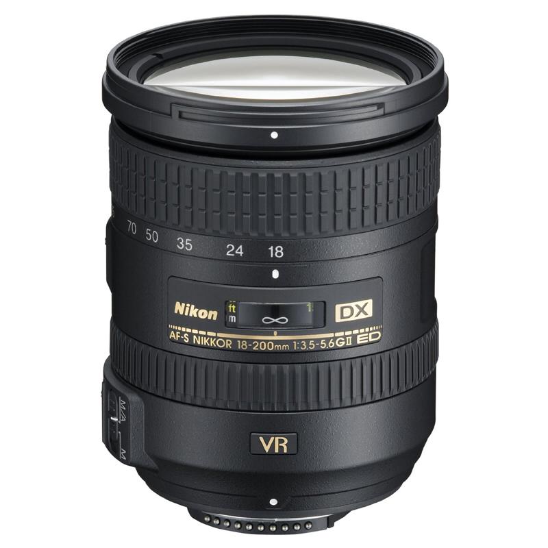 【キャッシュレス5%還元対象店】Nikon ニコン 高倍率ズームレンズ AF-S DX NIKKOR 18-200mm f/3.5-5.6G ED VR II 交換レンズ