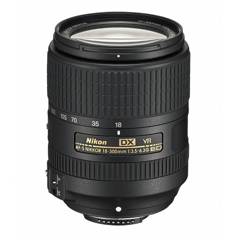 Nikon ニコン 高倍率ズームレンズ AF-S DX NIKKOR 18-300mm f/3.5-6.3G ED VR 交換レンズ