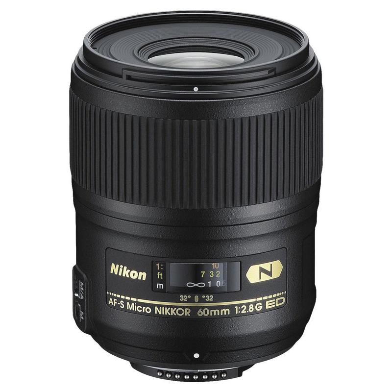【キャッシュレス5%還元対象店】Nikon ニコン マイクロレンズ AF-S Micro NIKKOR 60mm f/2.8G ED 交換レンズ
