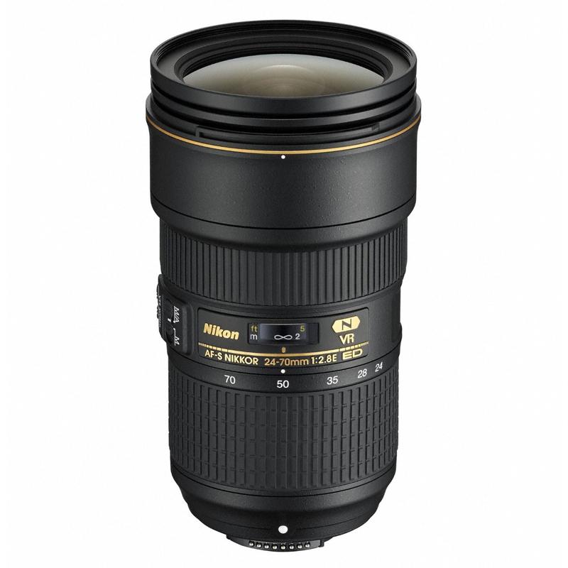 【4月12日20:00-16日1:59 カード決済でポイント9倍!】Nikon ニコン 大口径標準ズームレンズ AF-S NIKKOR 24-70mm f/2.8E ED VR 交換レンズ 【キャッシュバックキャンペーン20,000円対象】