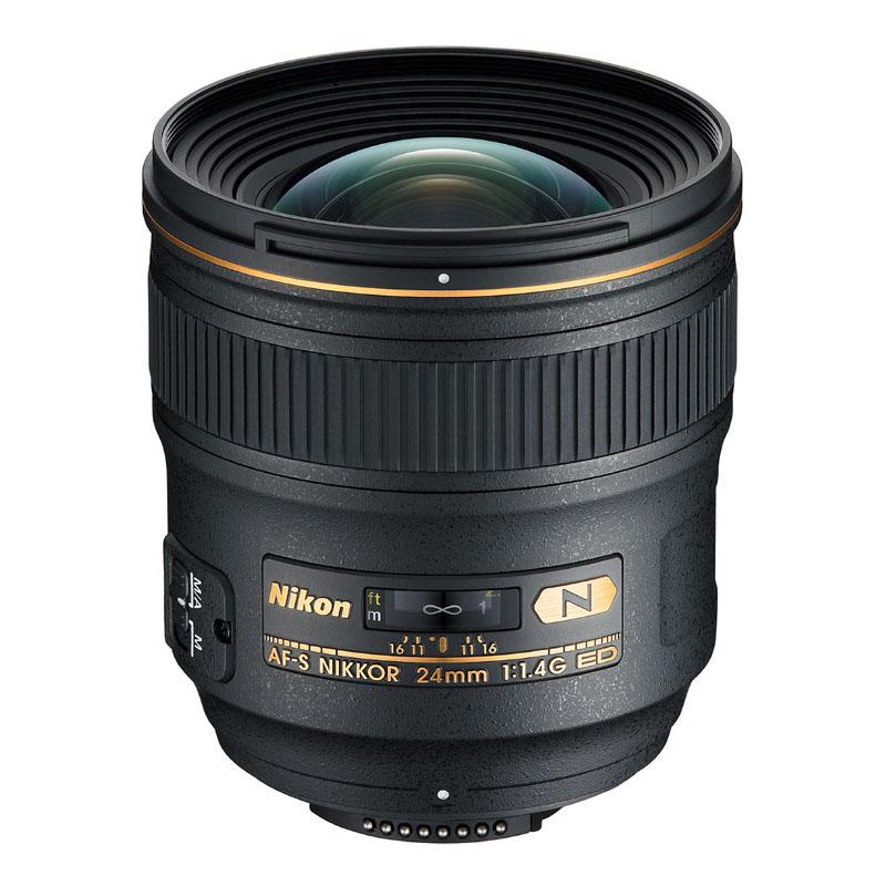 【7月21日20:00-7月26日1:59エントリー&カード決済でポイント最大7倍!】Nikon ニコン 大口径広角単焦点レンズ AF-S NIKKOR 24mm f/1.4G ED 交換レンズ