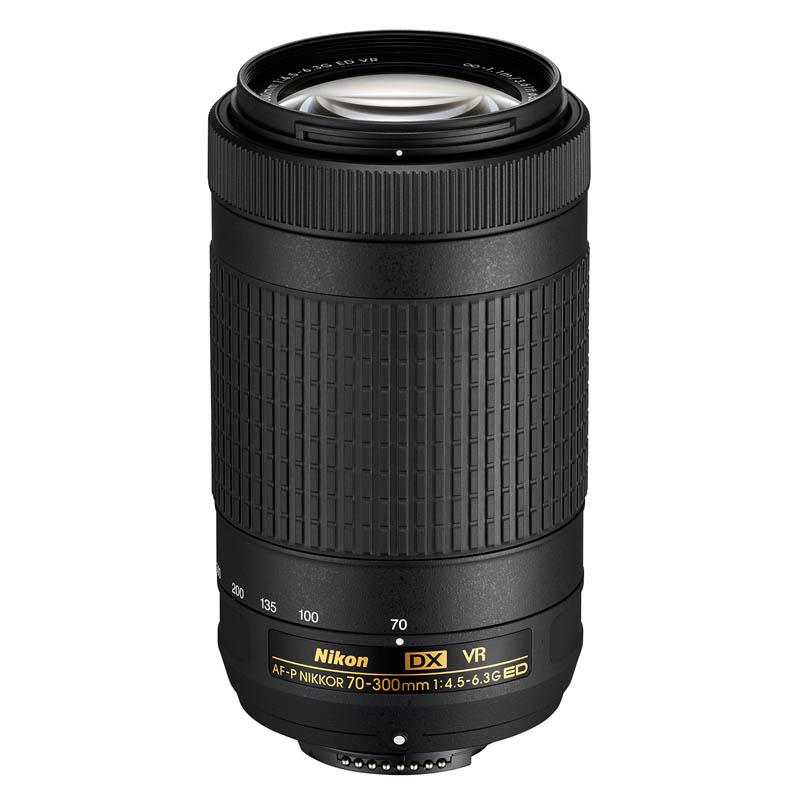 Nikon ニコン 望遠ズームレンズ AF-P DX NIKKOR 70-300mm f/4.5-6.3 G ED VR 交換レンズ
