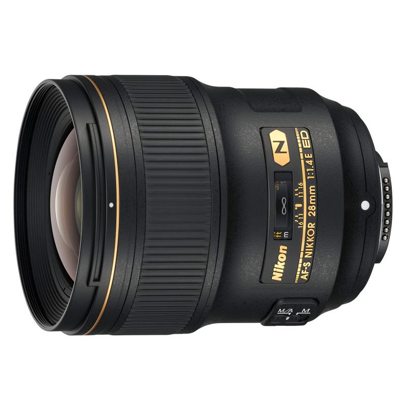 Nikon ニコン AF-S NIKKOR 28mm f/1.4E ED 大口径広角レンズ 交換レンズ【キャッシュバックキャンペーン10,000円対象】