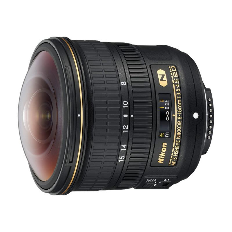 Nikon ニコン AF-S Fisheye NIKKOR 8-15mm f/3.5-4.5E ED フィッシュアイズームレンズ 交換レンズ