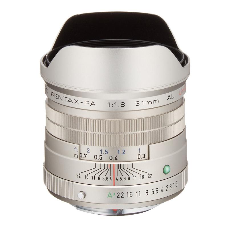 【4月12日20:00-16日1:59 カード決済でポイント9倍!】PENTAX (ペンタックス) smc PENTAX-FA 31mm F1.8 AL Limited シルバー 広角単焦点レンズ
