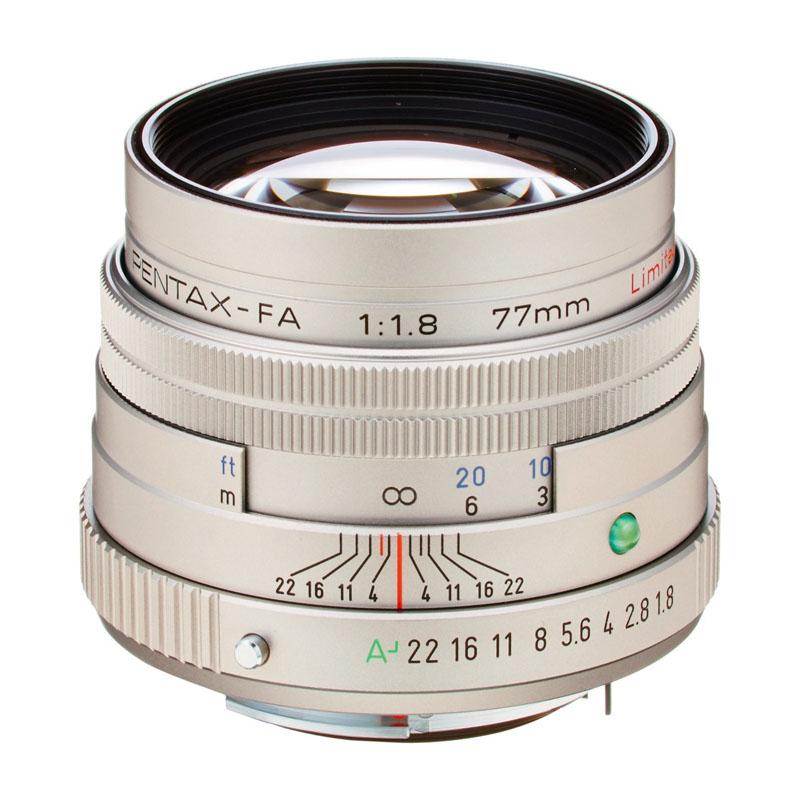 【4月12日20:00-16日1:59 カード決済でポイント9倍!】PENTAX (ペンタックス) smc PENTAX-FA 77mm F1.8 Limited シルバー 中望遠単焦点レンズ